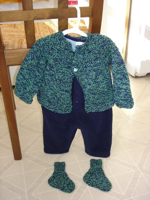 Rowan's Sweater and Socks